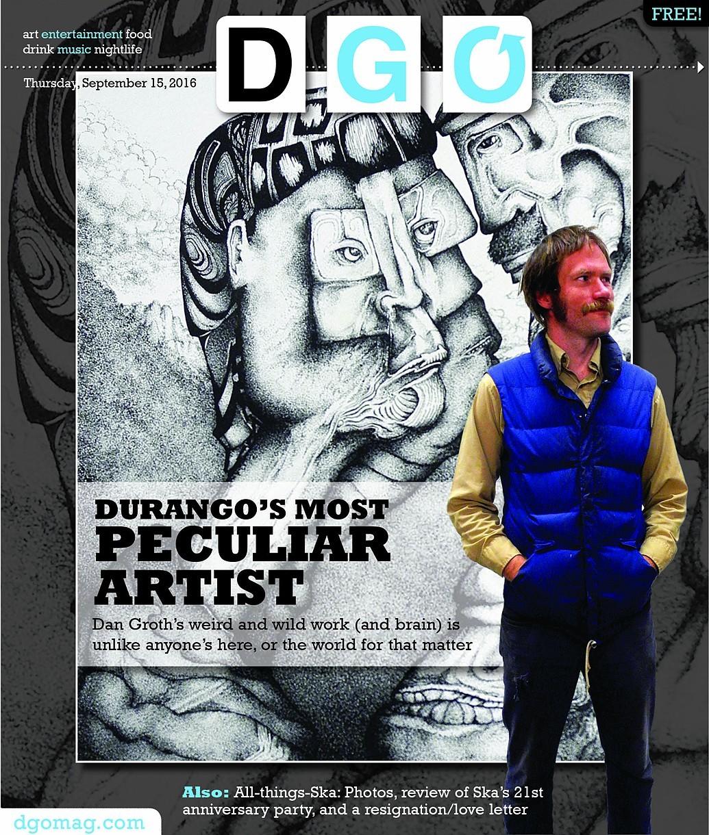 Artist Dan GRoth