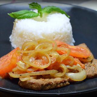 Bistec Caraqueño – A Thin Steak Caracas Style