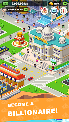 Idle investor tycoon- Build your city filehippodl screenshot 1