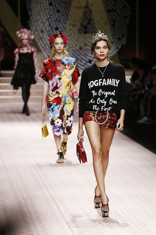 130adabc9c47 Prada finds its mojo and Fendi loses its logo — all the highlights ...
