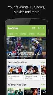 Hotstar- screenshot thumbnail