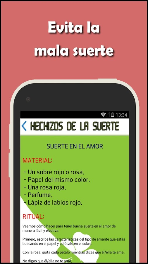 Hechizos buena suerte android apps on google play - Rituales para la buena suerte ...