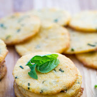 Low Carb Cheese Crackers.