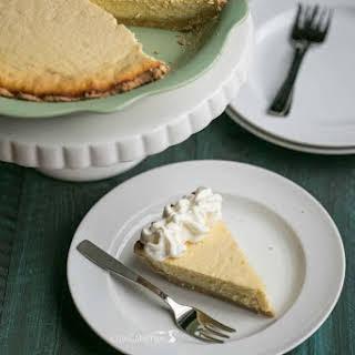 Sweet Ricotta Cheese Pie - Gluten Free.