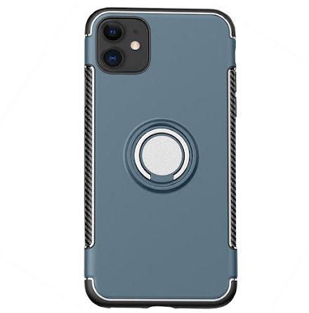 iPhone 12 - Stilsäkert Praktiskt Skal med Ringhållare FLOVEME
