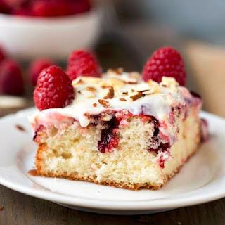 Raspberry White Cake Mix Recipes.