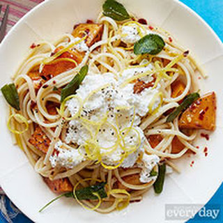 Butternut Squash & Brown Butter Linguine