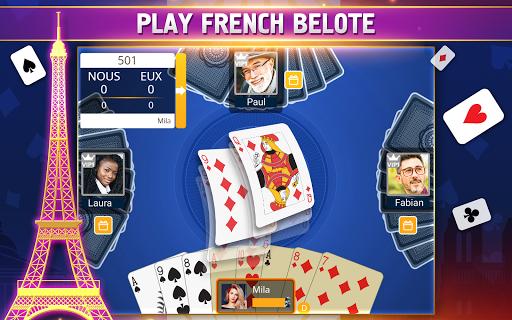 VIP Belote - French Belote Online Multiplayer 3.6.36 screenshots 9