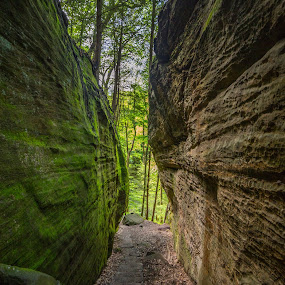 Into the void by Donna Sparks - Landscapes Caves & Formations ( cliffs, nature, color, formation,  )