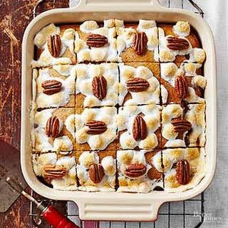 Sweet Potato Pecan Bars.