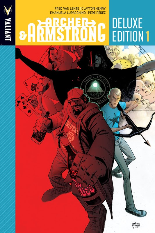 Archer & Armstrong Deluxe Edition (2014) - complete