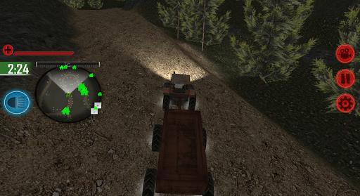OffRoad Tractor Farming 3D  captures d'écran 2