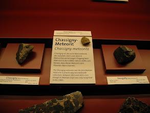 Photo: Le musée d'Histoires Naturelles de Vienne (NHM)présente une collection exceptionnelle de météorites.