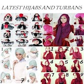 HIJAB AND TURBAN TUTORIALS