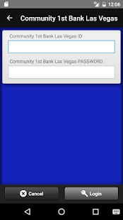 Community 1st Bank Las Vegas- screenshot thumbnail
