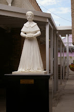 Photo: Henriette Delille, foundress of the Holy Family Sisters, is honored in the sculpture garden.