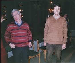 Photo: Med Prof. Hans Fagius, Drammen, 2005