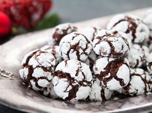 Chocolate Crinkles Cookies Recipe