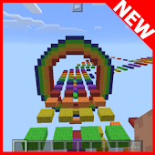 Nyan Lights MCPE map