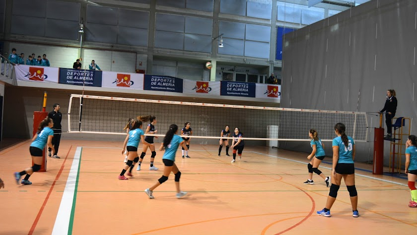 Juegos Municipales de Voleibol.