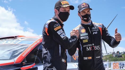Segunda plaza para Dani Sordo en el Rally de Portugal con su Hyundai i20 Coupé