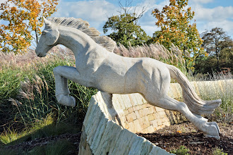 Photo: The new horse on the roundabout at the South end of Wetherby.
