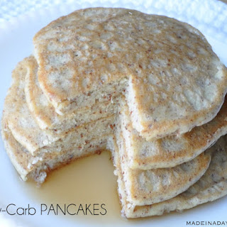Low Carb Pancakes with Almond Meal Flour Recipe