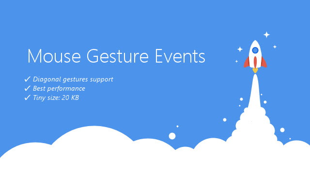 Mouse Gesture Events