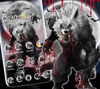 Horror Bloody Werewolf Theme - náhled