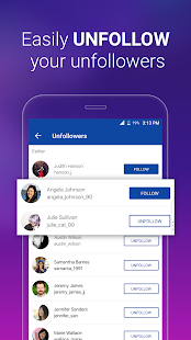 Unfollowers & Followers Analytics for Instagram For PC (Windows