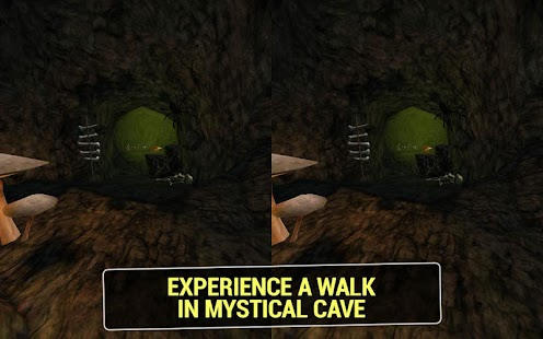 Mystical Cave VR- screenshot thumbnail
