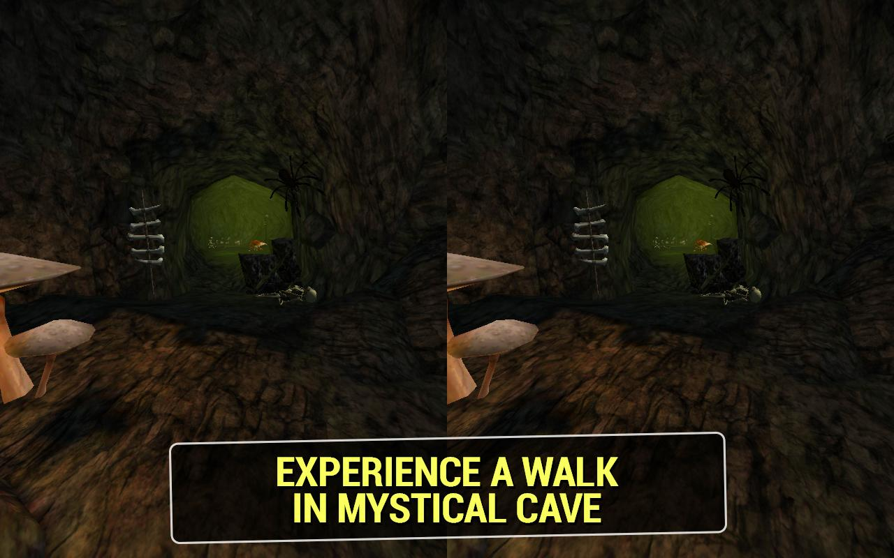 Mystical Cave VR- screenshot