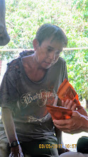 Photo: Near Chiang Dao:  Patient, Rit, with HIV and Hepatitis C