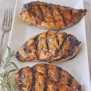 Spicy Honey Glazed Chicken.