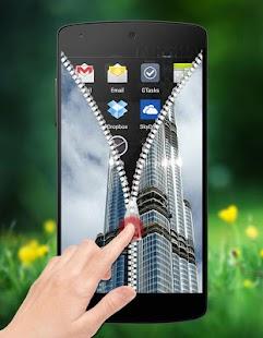 Dubai Zipper Lock screenshot