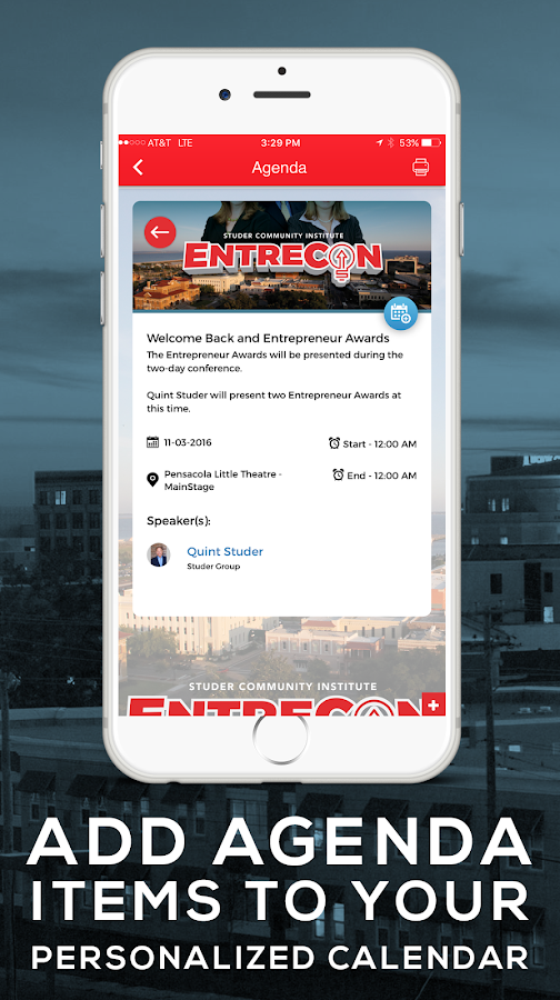 EntreCon- screenshot