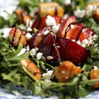 Plum, Rocket and Feta Salad Recipe