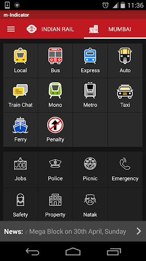 Mumbai (Data) - m-Indicator 92.0 screenshots 1