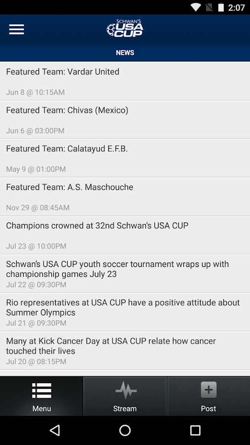 USA CUP - Schwan's- screenshot