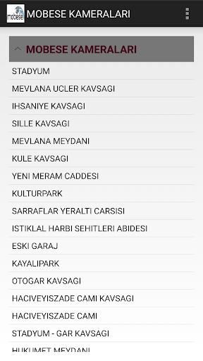Konya Mobese Kameralaru0131 1.0 screenshots 1
