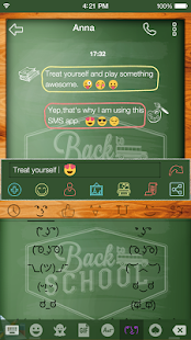 Emoji Keyboard Back School - náhled