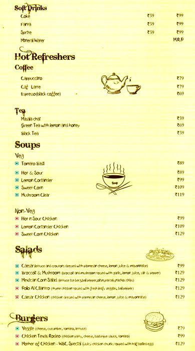 Wood Box Cafe menu 2