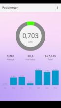 Walking: Pedometer diet screenshot thumbnail