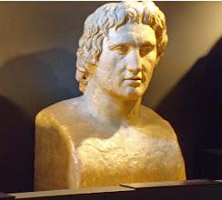 Photo: Alexander the Great, copy of the so-called Azara Hermes .......... Alexander de Grote, kopie van de zg. Azara Hermes