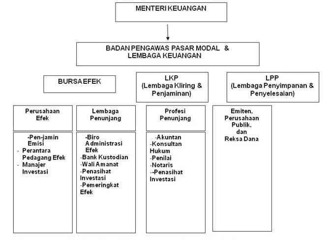 Struktur dan Pelaku Pasar Modal
