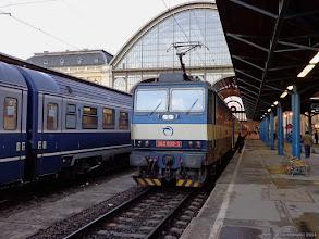 """Photo: 362 009-3, EC """"Varsovia"""" Budapest Keleti - Warszawa Wschodnia {Budapest Keleti; 2014-02-10}"""