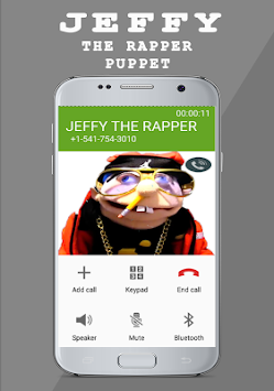 Download JEFFY : THE RAPPER PUPPET Fake Call Prank APK latest