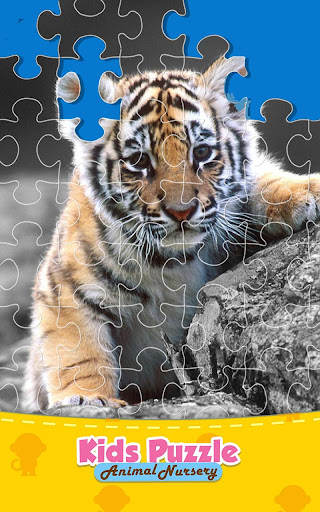 Animal Jigsaw Puzzle Kids Game