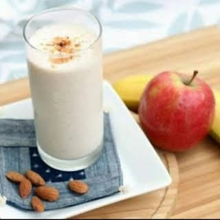 Apple Banana Smoothie.