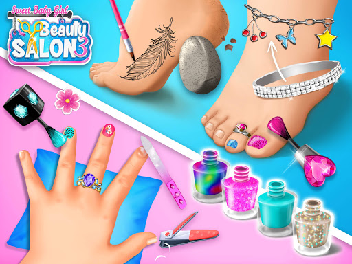 Sweet Baby Girl Beauty Salon 3 - Hair, Nails & Spa 1.0.91 screenshots 23